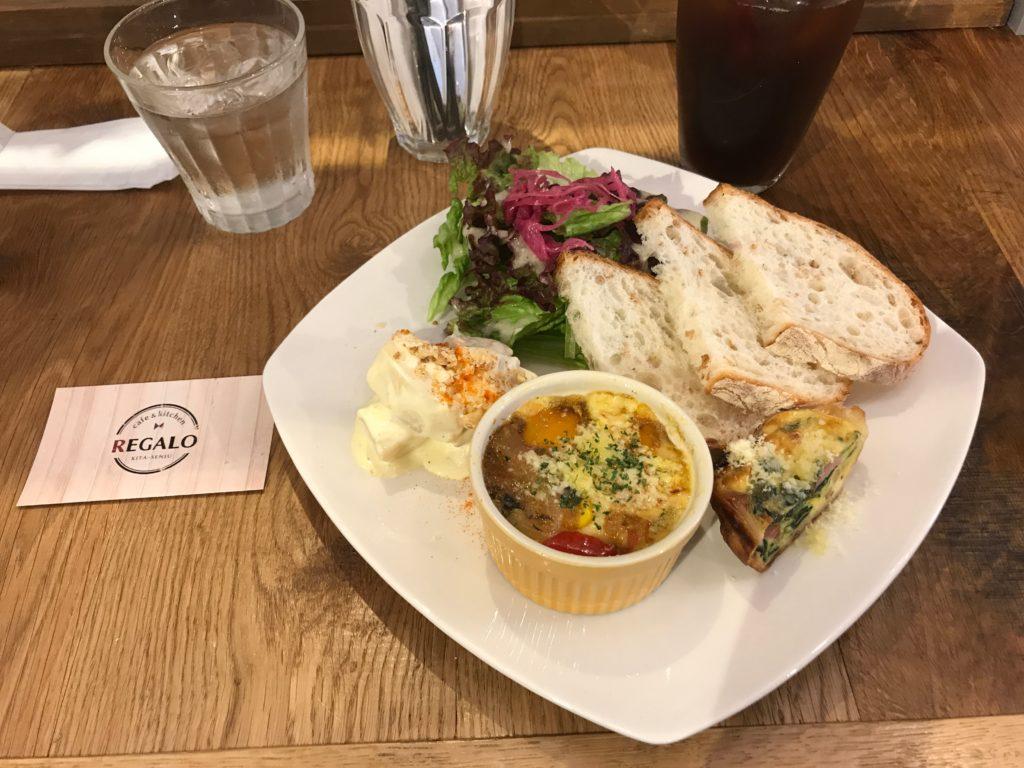イタリアンランチが楽しめるcafe&kitchen「REGALO」