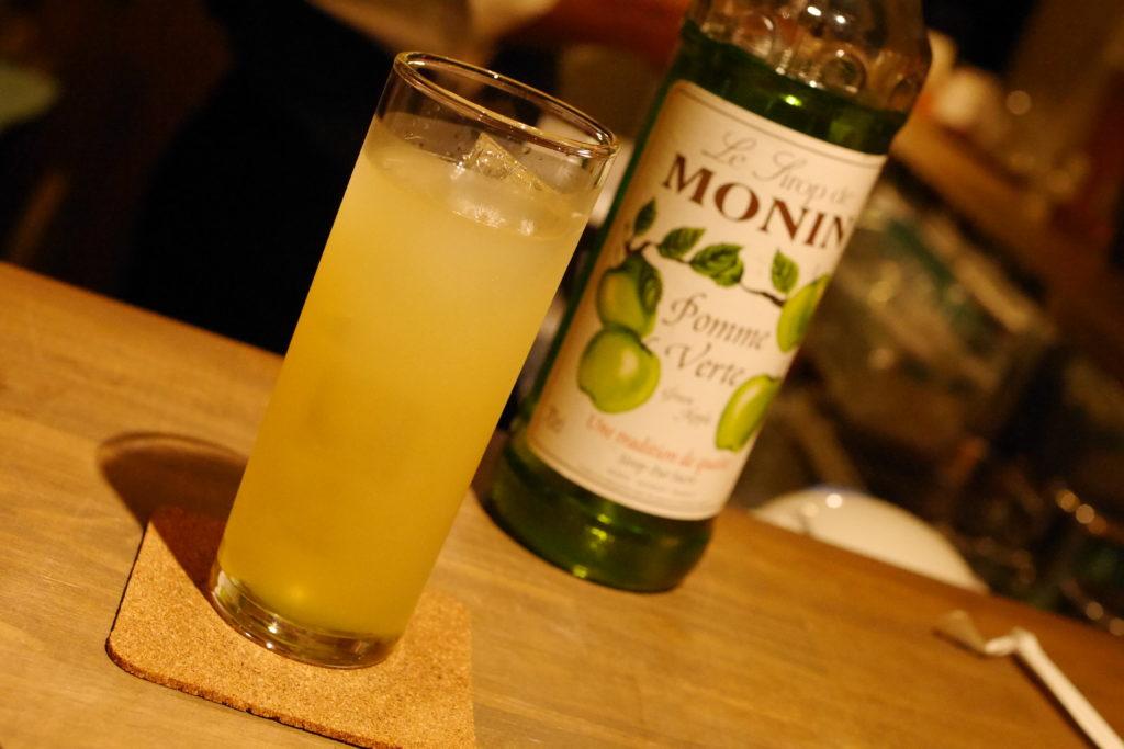 グレープフルーツのノンアルコールカクテル