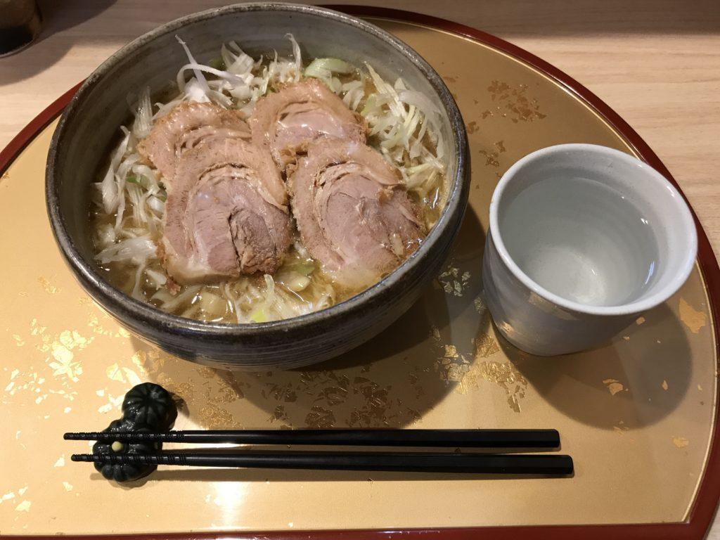 生姜鶏白湯ラーメン