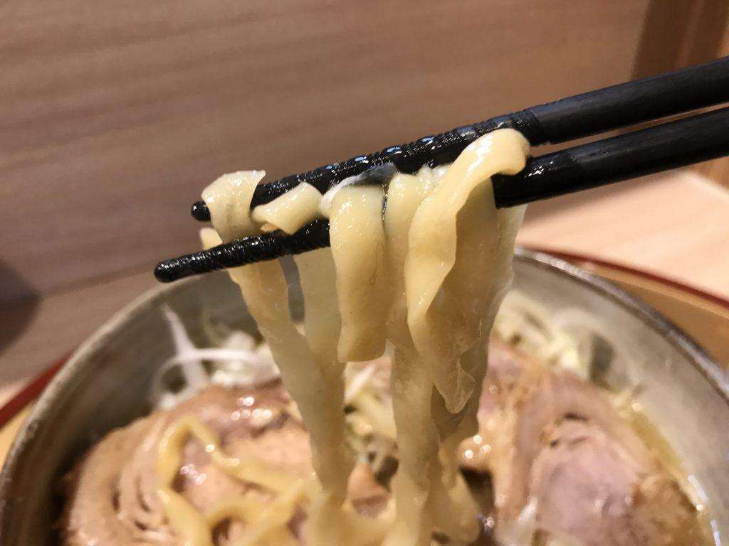 麺屋別館の麺
