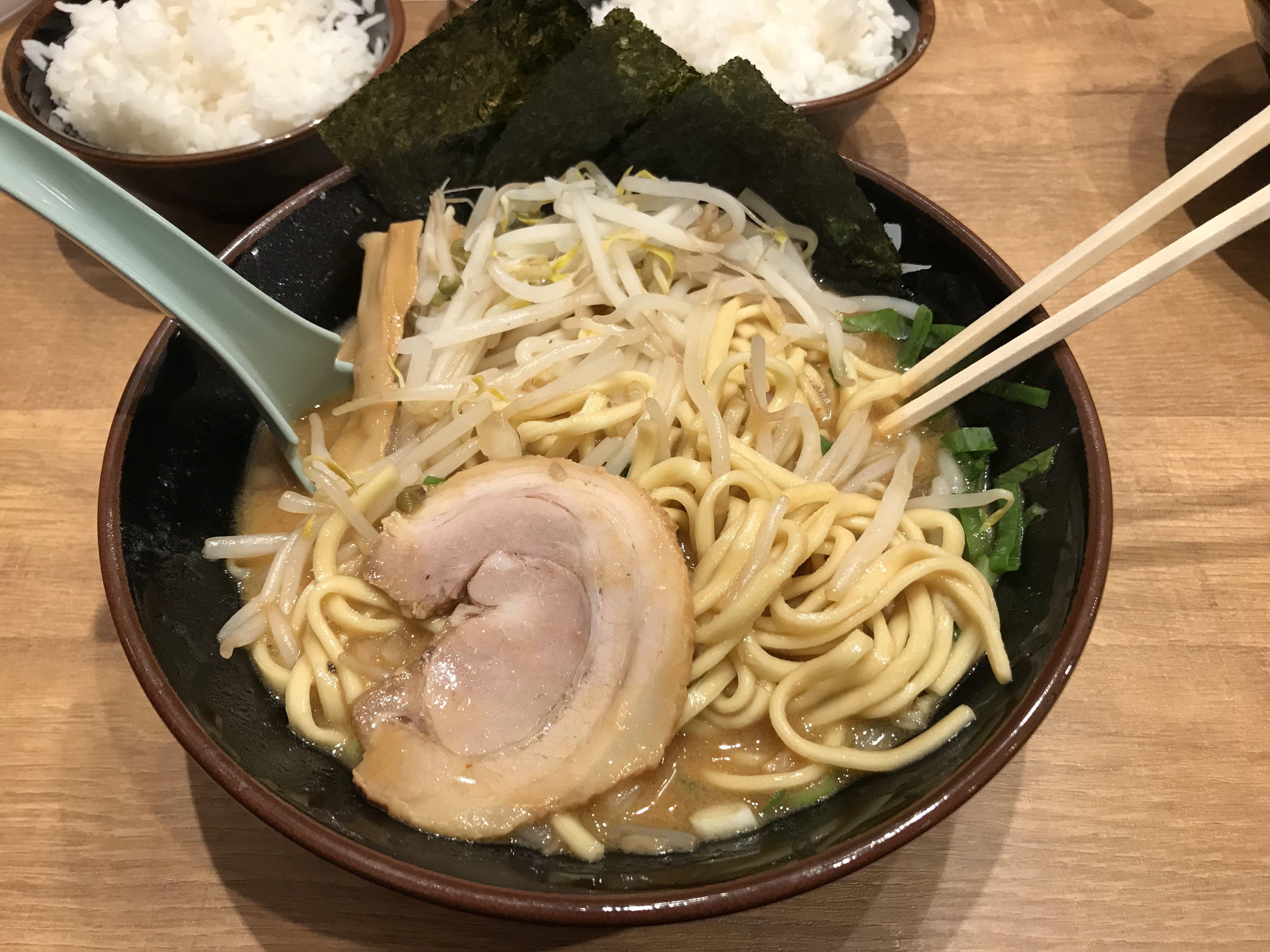 横浜道の味噌ラーメン