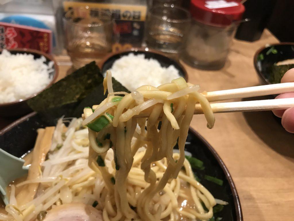 太麺の写真