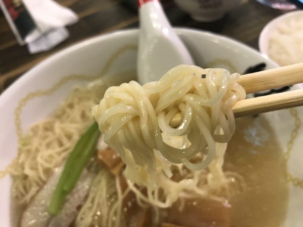 カンフーキッチンの細麺